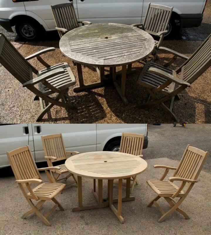 Renovace dřevěného nábytku pískováním