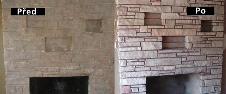 renovace kamene pískováním