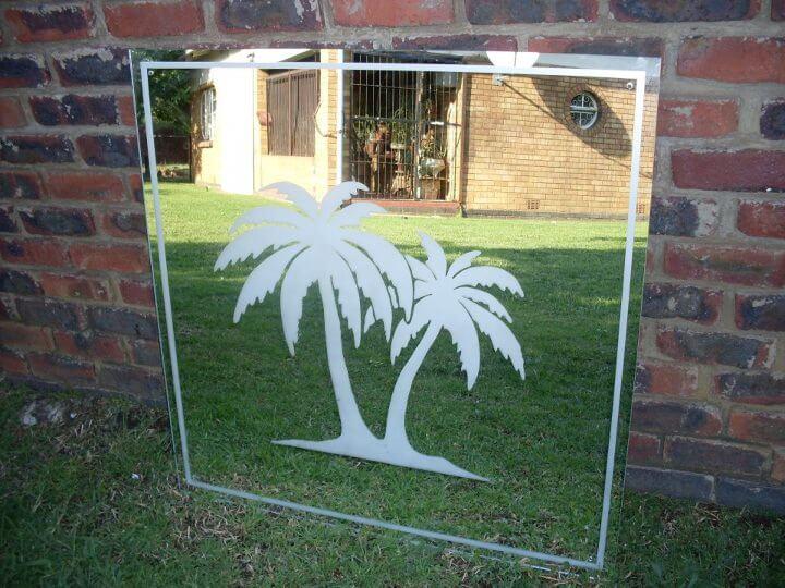 Dekorativní pískování skla