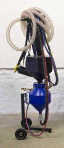 mobilni tlakovy tryskac s odsavanim
