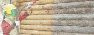 Pískování dřevěného povrchu