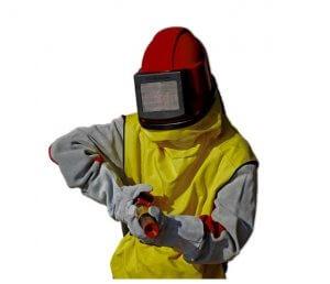 Hobby pískování - ochranné pomůcky