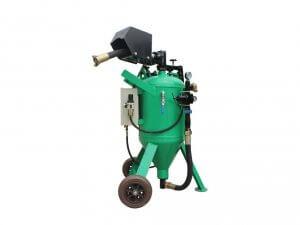 Zelené vodní pískovací zařízení