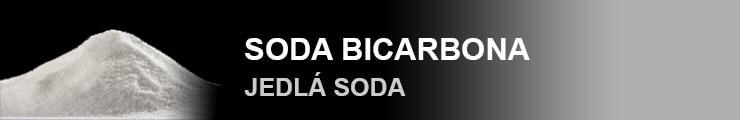 Soda bicarboina (jedlá soda)